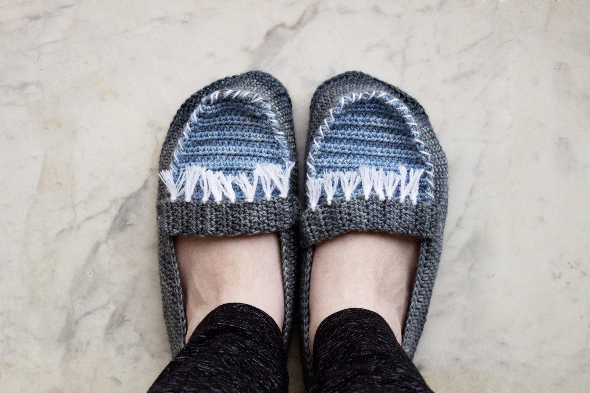 Moccasin Slippers Crochet Pattern Free Pattern My Accessory Box