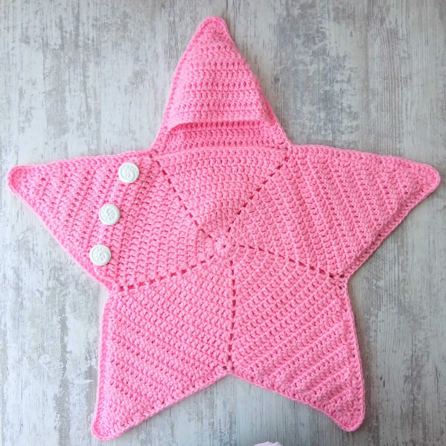 Crochet Baby Star Blanket Wrap Cozy Free Pattern Myaccessorybox