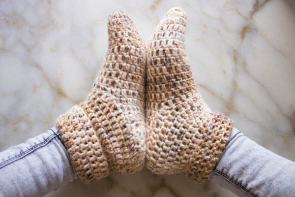 Quick Crochet Slipper Free Crochet Pattern Image 2